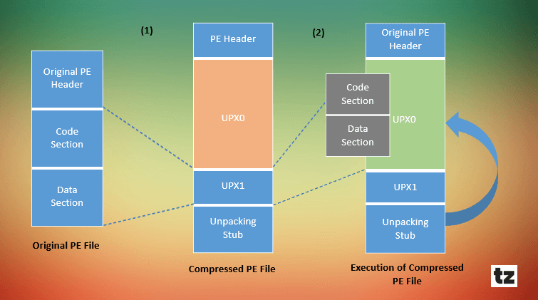UPX Packer Structure
